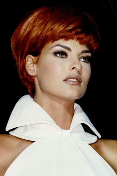The Most Epic Sets Of Brows, Ever #refinery29  http://www.refinery29.com/2014/03/64551/best-celebrity-eyebrows#slide-7  The Supermodel Arch  Linda Evangelista brought the brow out of the '80s and into the angular beauty of the '90s with her sharply arched set that complemented her high cheekbones and precisely cut hairstyles....