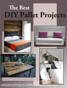 A good list of pallet projects! Pallet Creations, Diy Pallet Projects, Diy Wood, Wood Pallets, Bunk Beds, Repurposed, Household, Top, Furniture