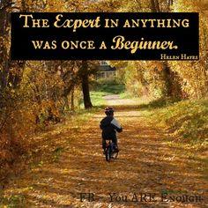 everyone starts at the beginning