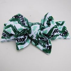 St Patrick's Day Head Wrap/ Headband/Bow Pinch Proof by PickeeKids