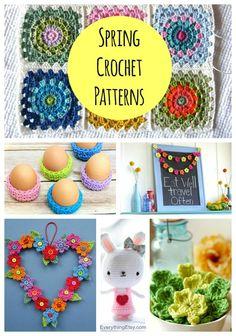 Spring Crochet Patterns–7 Free Designs - EverythingEtsy.com #crochet #pattern