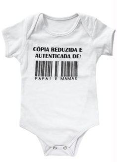 Body Bebê Branco Estampado - Posthaus Roupa De Bebe Menina a260d0d1b259c