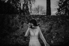 """Rafal Borek on Instagram: """"S. #rafalborekphotography #blackandwhiteweddingphotography #ballymagarveyvillage #blackandwhitephotography #artofphotography…"""" Black And White Photography, Ireland, Wedding Photography, Dresses With Sleeves, Long Sleeve, Instagram, Fashion, Black White Photography, Moda"""