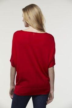 #Lacoste Short Sleeve V-Neck #Sweater #Tunic