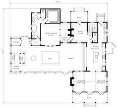Port Royal Coastal Cottage - Allison Ramsey Architects, Inc. | Southern Living House Plans | Inspiring floor plans  | Coastal Cottage, Cottages and …