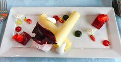 Parade Ring, Ascot: Frais de bois vacherin, lemon and basil parfait, strawberry gelée, French meringue tears, strawberry sorbet, edible flowers
