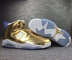 new concept be34c 8c669 Popular Air Jordan 6 Pinnacle Metallic Gold White 854271-730 -  Mysecretshoes Nike Air Jordans