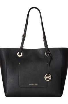 MICHAEL Michael Kors Walsh Large East/West Top Zip Tote (Black) Tote Handbags - MICHAEL Michael Kors, Walsh Large East/West Top Zip Tote, 30S7GWAT4L-001, Bags and Luggage Handbag Tote, Tote, Handbag, Bags and Luggage, Gift - Outfit Ideas And Street Style 2017