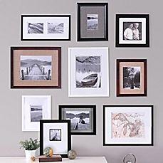 image of Real Simple® 10-Piece Portrait Frame Set