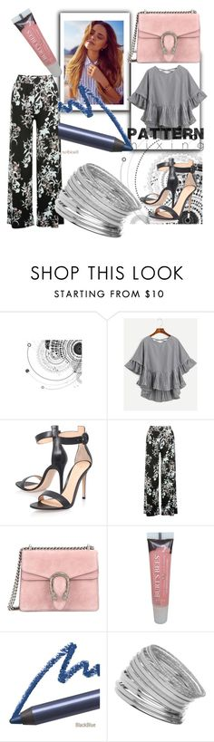 """Untitled #496"" by heavenlystar ❤ liked on Polyvore featuring Gianvito Rossi, M&Co, Gucci, Burt's Bees and Miss Selfridge"