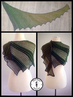 This shawl is amazing :) Comes from Revelry and belongs to Jasmin Räisänen. She is an artist who discover  this gorgeous pattern. Has such a great idea, impressing everyone in the world at on