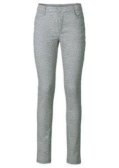 Jetzt anschauen: Bedruckte High-waist Hose in super stretchigem Material aus der Rainbow Kollektion.