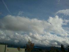 Clouds over Sky Blue Mesa.