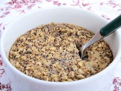 Lemon poppy seed oatmeal - 2 ways; baked or stovetop