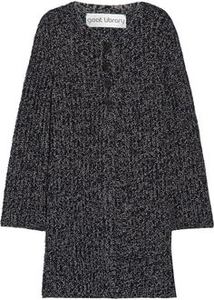 Goat Viper ribbed wool cardigan - click the link for product details :)