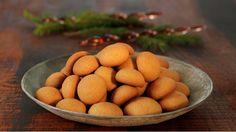 Fresh Ginger, Xmas, Christmas, Tea Time, Almond, Spicy, Food And Drink, Cookies, Navidad
