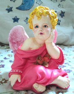 Anjo cor de rosa