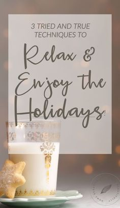 Feel like the holidays are more stressful than merry? I feel you! Let's chat about 3 ways you can kick back so you can actually RELAX and enjoy yourself this holiday season! Click to get comfy for Christmas!