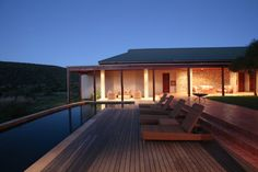 Kwandwe Private Game Reserve (Relais & Chateaux) - Grahamstown, South Africa Private Games, Game Reserve, South Africa, Mansions, House Styles, Pretty, Home Decor, Courtyards, Decoration Home