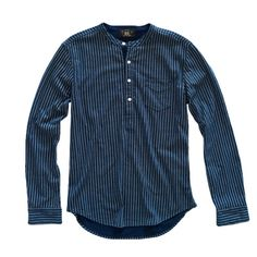 RRL Striped Cotton Popover
