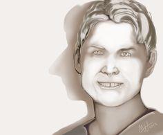 """Stone Face"" by M White November, 18, 2012"