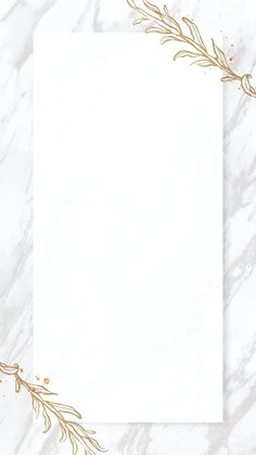 Download premium vector of Gold leaves frame on marble background mobile phone wallpaper vector by Nunny about Leaf pattern frame design illustration, gold outline design element, outline invitation card, antique, and background 2019765