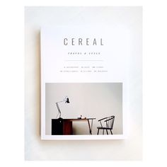 Newest arrival to hit our shelves, #CerealMagazine Vol. 9! :: Stop in and get inspired. We seriously haven't been able to put it down.
