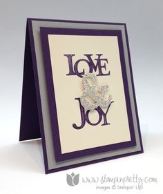 Stampin up stamp it mary fish order pretty love & and joy holiday christmas stamp set ideas holiday catalogs