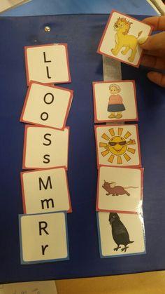 Laut und Bild zusammen finden. Material von www.zaubereinmaleins.de Anlautgenerator. Autismus. Autism. Anlaute. Buchstabenerarbeitung. Teacch.