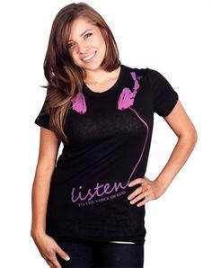 Listen - Christian Shirts for $19.99