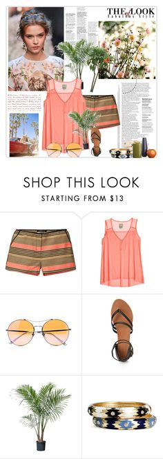 """Young forever."" by skyblue121 ❤ liked on Polyvore featuring Scotch & Soda, Go Silk, Gucci, Forever 21, Sequin and Crate and Barrel"
