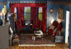 This dollhouse is very different than any house I've ever done. This is because it is based on a story I wrote five years ago. I wrote ...