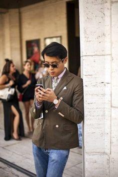 How to Wear a Dark Brown Blazer (276 looks) | Men's Fashion