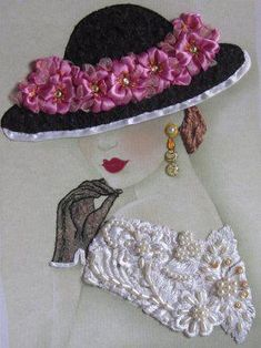 Wonderful Ribbon Embroidery Flowers by Hand Ideas. Enchanting Ribbon Embroidery Flowers by Hand Ideas. Silk Ribbon Embroidery, Hand Embroidery Designs, Embroidery Art, Embroidery Stitches, Embroidery Patterns, Embroidery Supplies, Embroidery Techniques, Embroidery Bracelets, Cross Stitches