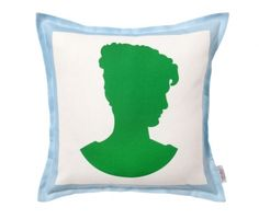 This Venus-Kelly pillow by Tobi Fairley is really cute but for $260 I think I could make 100!