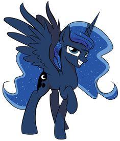Luna: The Princess of the Night by AmoreCadenza.deviantart.com on @deviantART