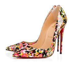 So Kate 120 Multi Patent Leather - Women Shoes - Christian Louboutin