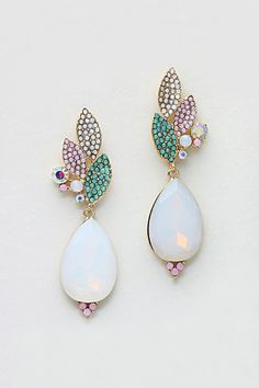 Crystal Grace Earrings in Opalescence on Emma Stine Limited