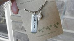 Sister Missionary Necklace, missionary mom necklace