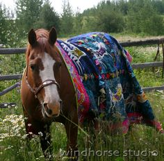 Horse and horse quilt - adventures in life: the muse and the work, pets and quilts
