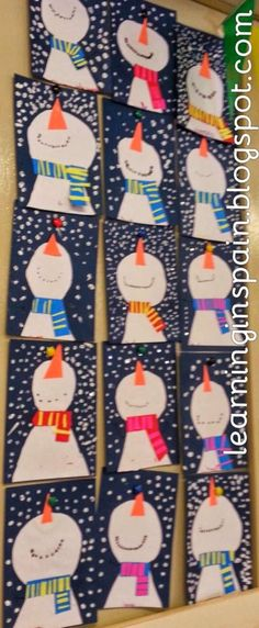 Winter Crafts and Resources to use in the primary classroom - Holiday wreaths christmas,Holiday crafts for kids to make,Holiday cookies christmas, Kids Crafts, Winter Crafts For Kids, Cute Crafts, Winter Crafts For Preschoolers, Winter Ideas, Simple Crafts, Winter Fun, Rock Crafts, Summer Crafts