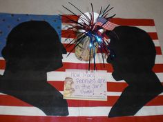 Bulletin Board for Presidents' Day