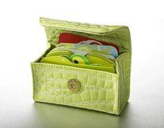 Lime Green Croc Card Cubby Organizer Card Cubby http://www.amazon.com