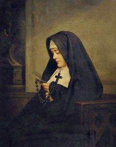 I have been wondering what it must be like for a nun, committed to regular prayer in her choir stall, on those days when she just doesn't...
