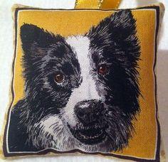 Border Collie / Sheep Dog Gift / Dog Lavender Bag / Stocking Filler -Handmade