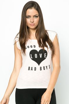 Love Slogan Top - 4 Colours - Just £5