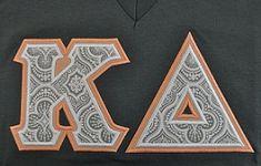 Sorority Greek Letters-