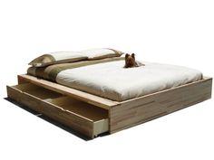 Scarica il catalogo e richiedi prezzi di Comodo By cinius, letto contenitore matrimoniale in legno