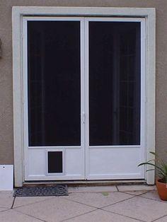 doggie doors for french doors