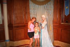 Disneyworld met Elsa
